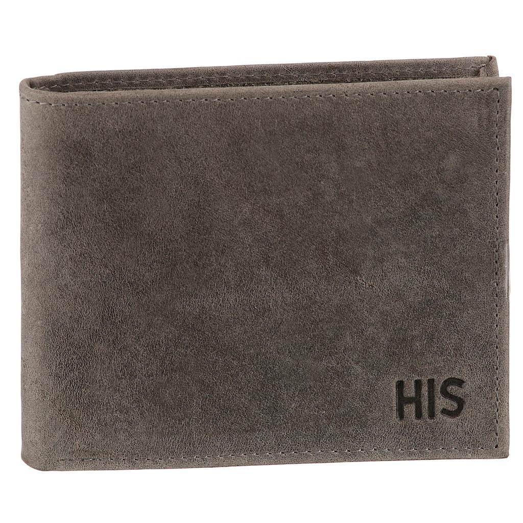 H.I.S Geldbörse, aus weichem Leder