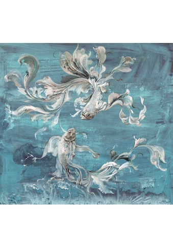Komar Fototapete »Vliestapete Flux«, bedruckt-geblümt-floral-realistisch, 300 x 280 cm kaufen