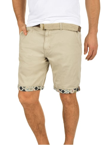 Indicode Chinoshorts »Inka«, (mit abnehmbarem Gürtel), kurze Hose mit Gürtel kaufen