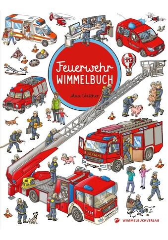 Buch »Feuerwehr Wimmelbuch - Das große Bilderbuch ab 2 Jahre / Max Walther« kaufen