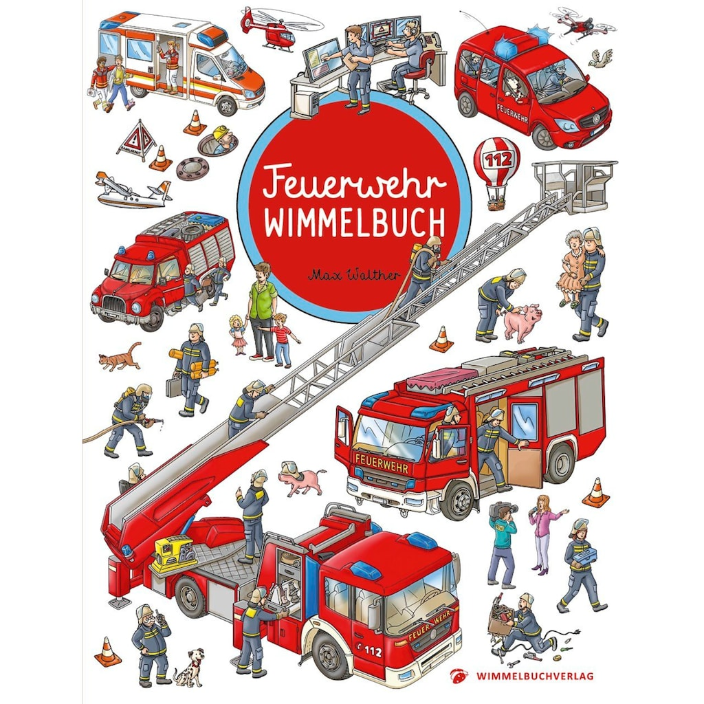 Buch »Feuerwehr Wimmelbuch - Das große Bilderbuch ab 2 Jahre / Max Walther«