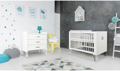 Ticaa Babymöbel-Set »Blanka«, Bett + Wickelkommode kaufen
