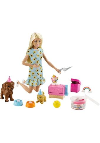Barbie Anziehpuppe »Hündchenparty und Puppe«, (Set) kaufen