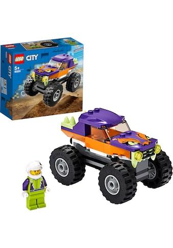 LEGO® Konstruktionsspielsteine »Monster-Truck (60251), LEGO® City«, (55 St.) kaufen