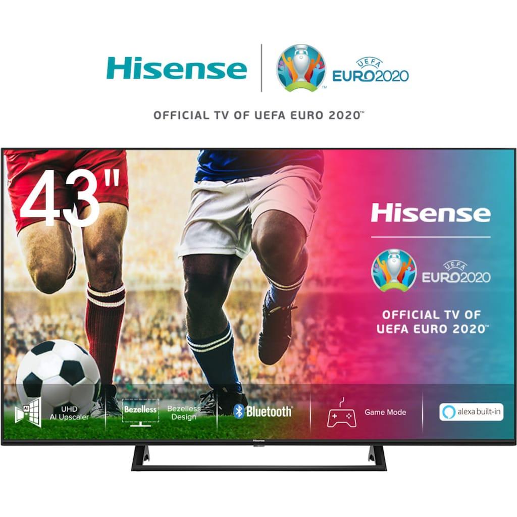 "Hisense LED-Fernseher »43AE7200F«, 108 cm/43 "", 4K Ultra HD, Smart-TV"