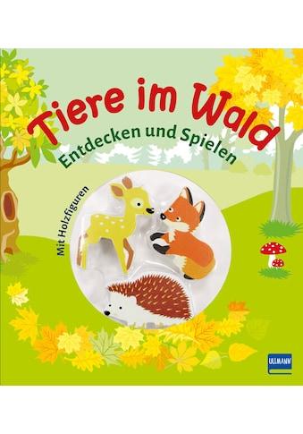 Buch »Tiere im Wald (Pappbilderbuch + 3 Holzfiguren) / Denitza Gruber« kaufen