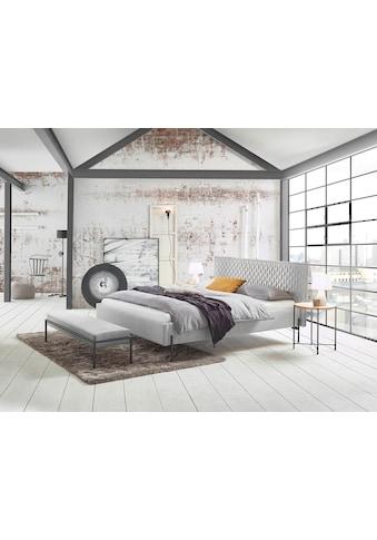 HASENA Polsterbett »Gloria«, in schönem Strukturstoff, mit trendiger Wabensteppung und... kaufen