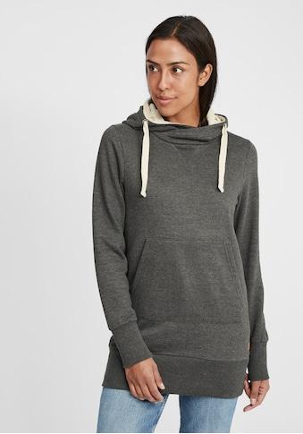 OXMO Hoodie »Jenny«, lang geschnittenes Kapuzensweatshirt kaufen