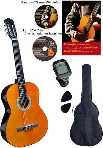 Clifton Konzertgitarre »Clifton - Konzertgitarre ½«, 1/2, Komplettset kaufen