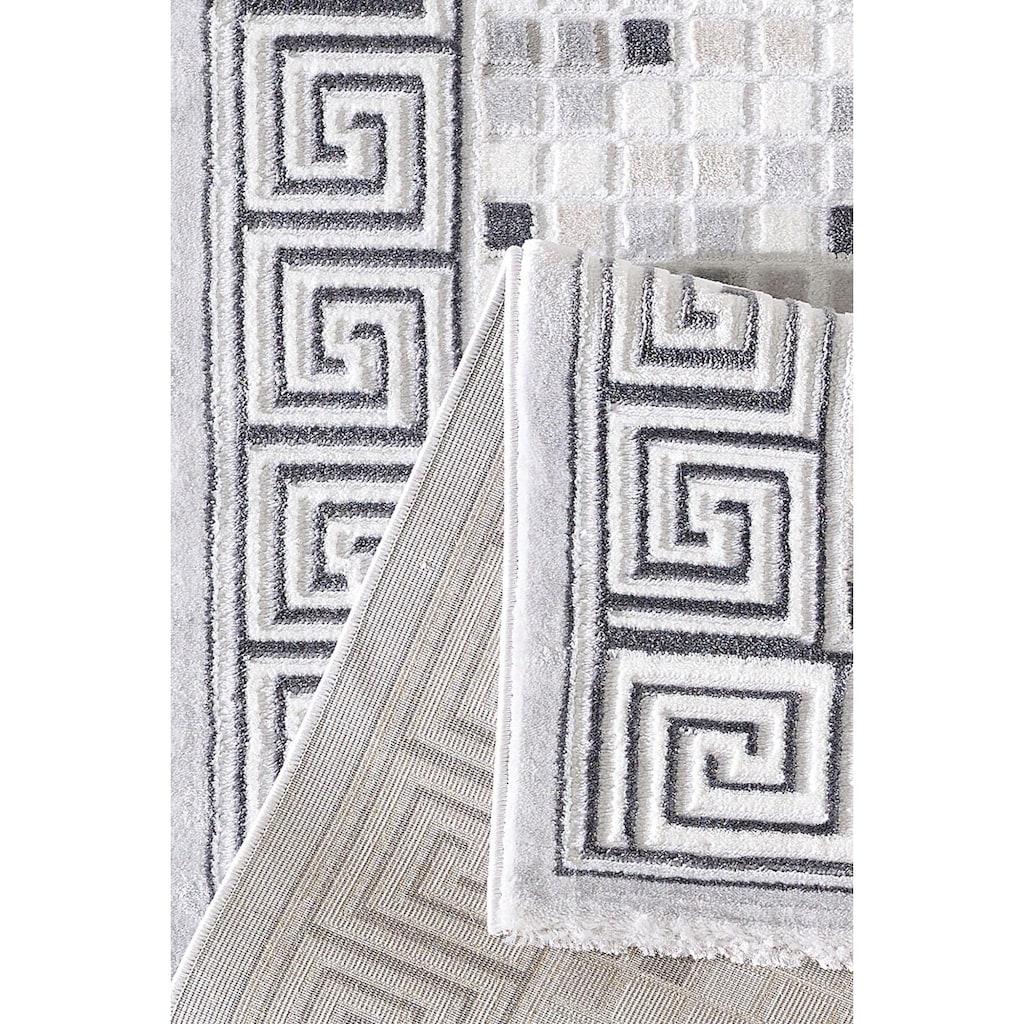 Sanat Teppich »Harmony 3207«, rechteckig, 12 mm Höhe, Vintage Orient-Optik, Wohnzimmer