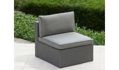 KONIFERA Loungesessel »Malta«, Polyrattan, inkl. Sitz -  und Rückenpolster kaufen