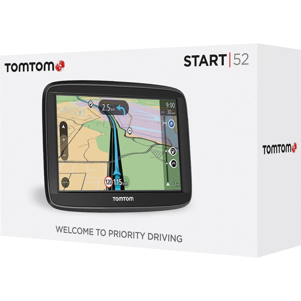 TomTom PKW-Navigationsgerät »Start 52 EU T«, (Karten-Updates)