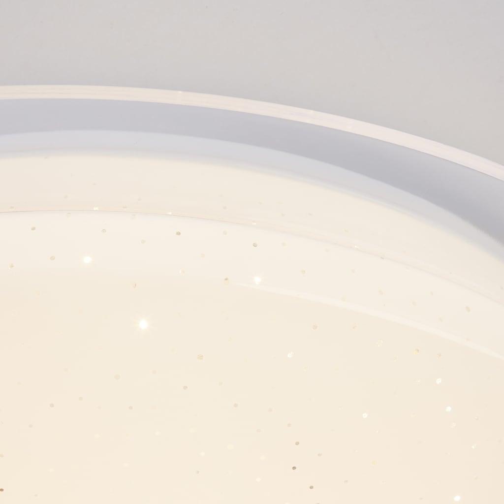 Brilliant Leuchten Duffy LED Wand- und Deckenleuchte 45cm weiß Tuya-App