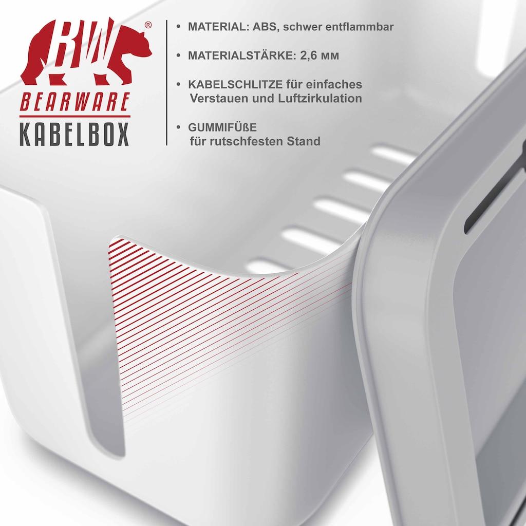 BEARWARE Kabelführung »Kabelmanagement / Kabelordner / Ladebox«