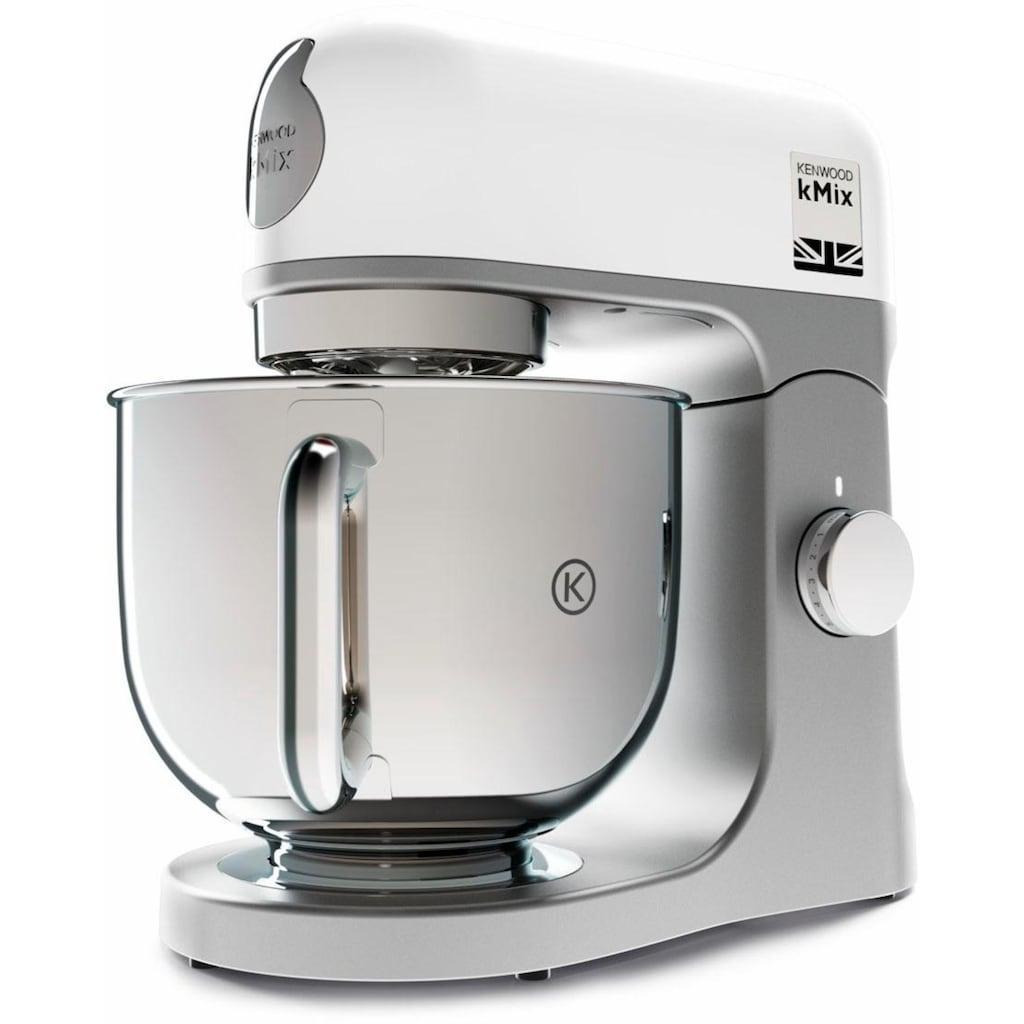 KENWOOD Küchenmaschine »kMix KMX 750WH«, 1000 W, 5 l Schüssel, inkl. 3-tlg. Patisserie-Set und 5l Schüssel