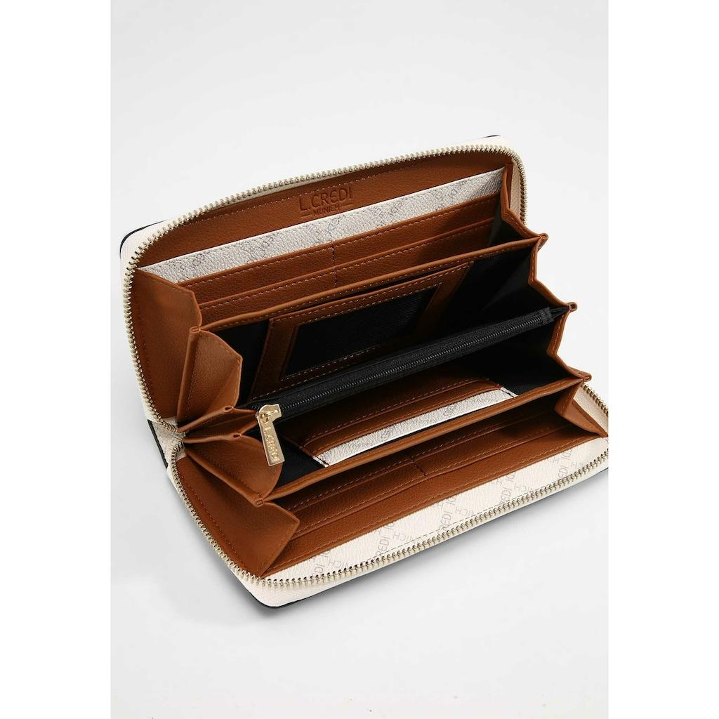 L. CREDI Geldbörse »Filiberta«