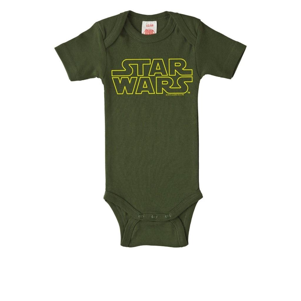 LOGOSHIRT Baby-Body mit Star Wars-Logo