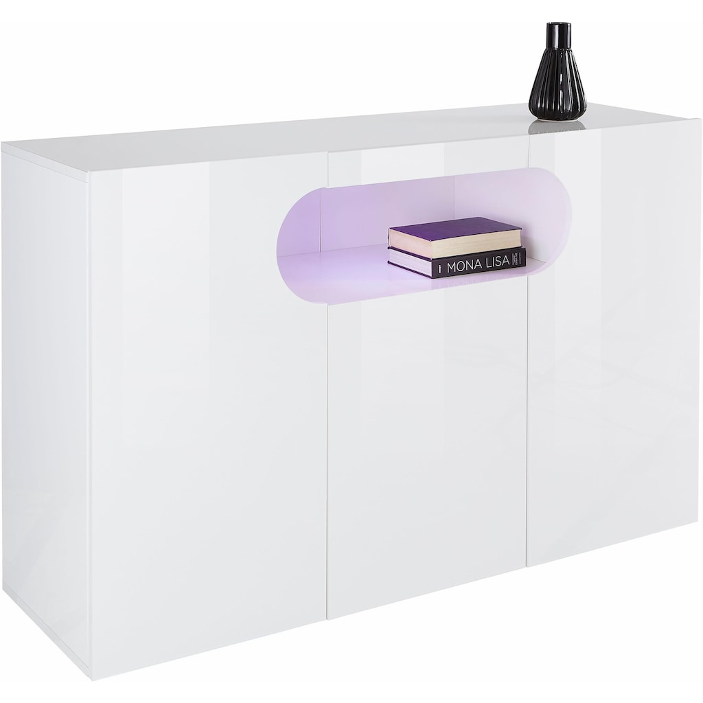 Sideboard »Real«, Breite 130 cm