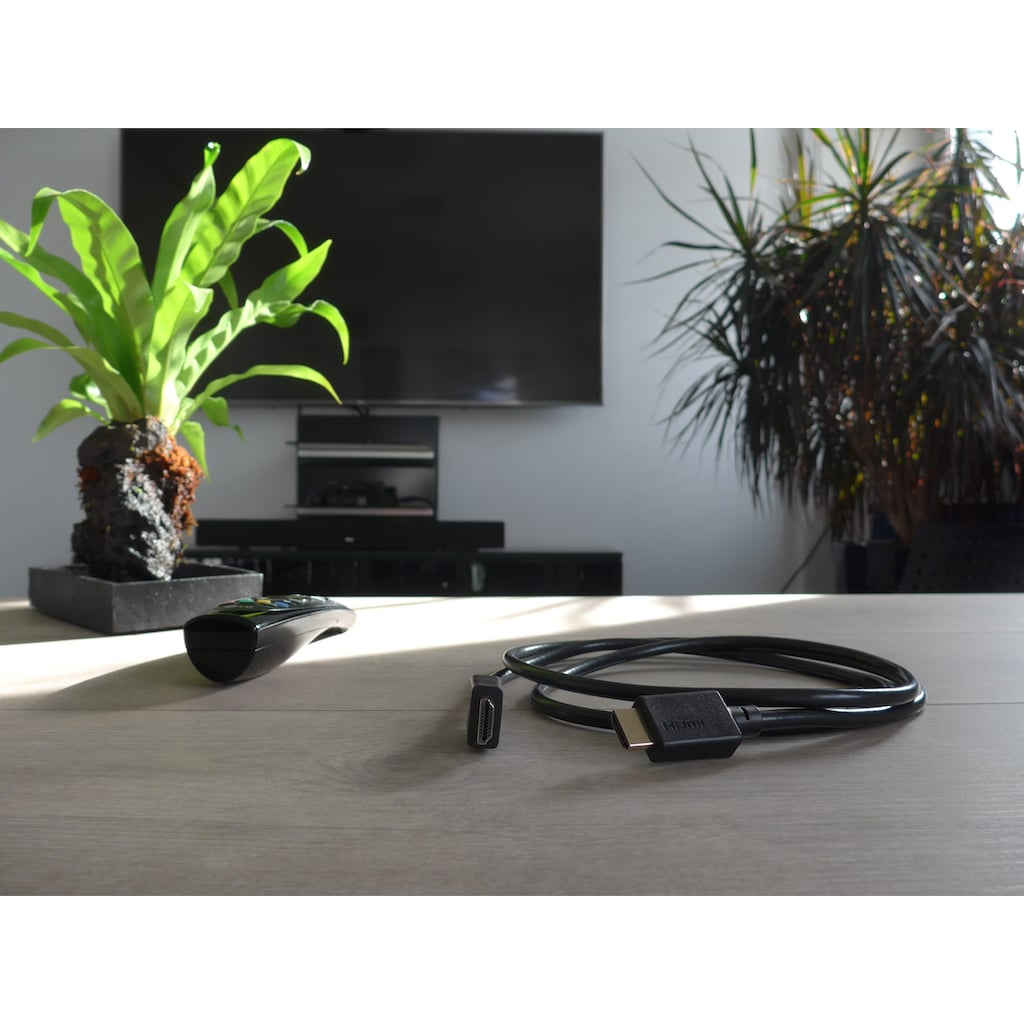 Schwaiger 8K Ultra High Speed HDMI Kabel mit Ethernet, 4K, Full HD, 3D »Ultra HD HDMI zu HDMI«