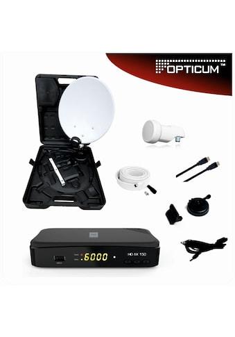 Opticum Red Sat-Spiegel »Camping Sat Anlage inkl. AX 150 HD« kaufen