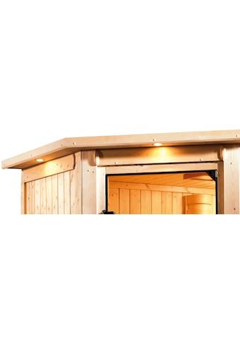Karibu Sauna »Milaja«, ohne Ofen kaufen