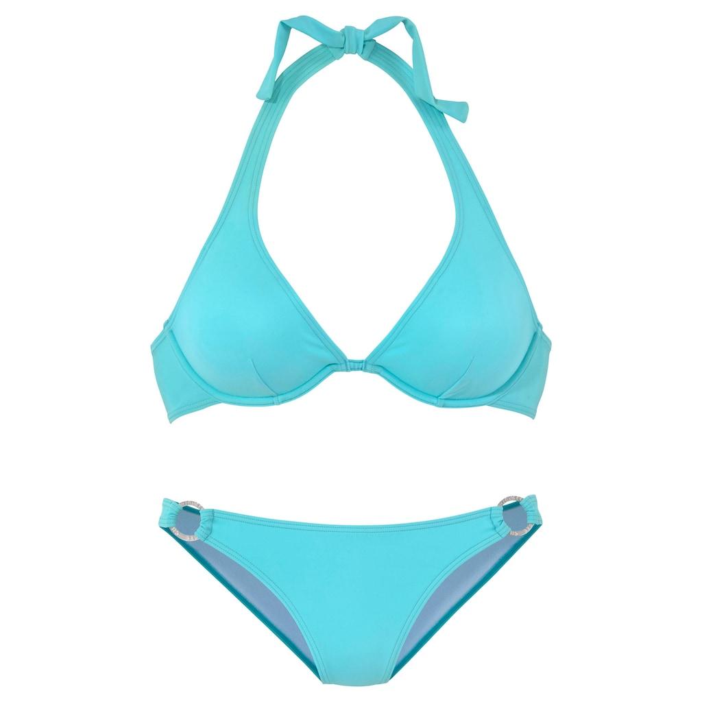 Chiemsee Bügel-Bikini, mit silbernem Zierring