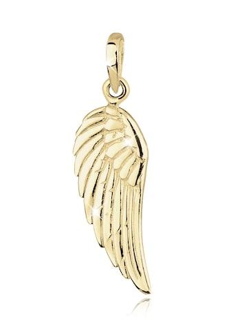 Elli Kettenanhänger »Flügel Engel 375 Gelbgold« kaufen