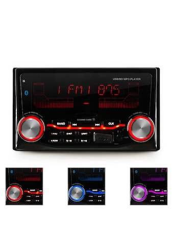 Auna Autoradio USB SD MP3 Bluetooth 3 Farben »MD - 200 2G BT« kaufen