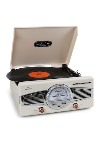 Auna Plattenspieler 50er Jahre Retro UKW/MW Stereo - Lautsprecher »TT 82« kaufen