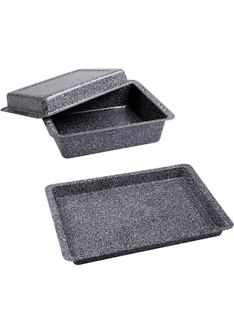 CHG Auflaufform »Granito«, Stahlblech, 3-teilig, Made in Germany kaufen