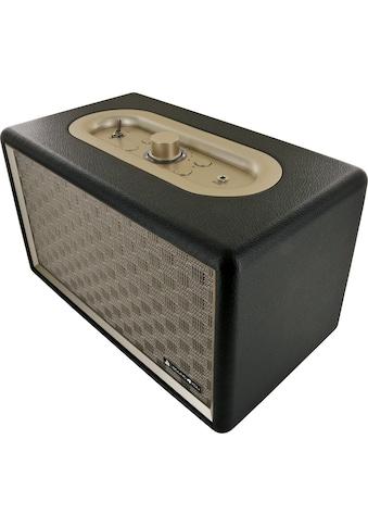 Schwaiger Bluetooth Lautsprecher Retro Design Stereo Speaker »Lederoptik« kaufen