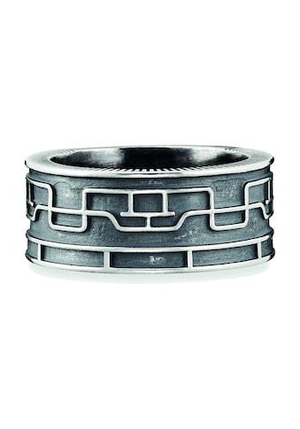 CAÏ Ring »925/- Sterling Silber oxidiert Linien Japan« kaufen