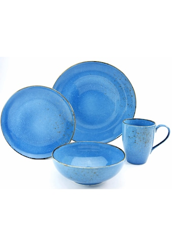 "CreaTable Single Geschirr - Set ""NATURE COLLECTION"" (4 - tlg.), Steinzeug kaufen"