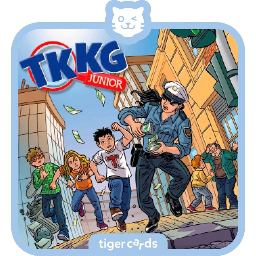tigerbox Hörspiel »TKKG Junior - Folge 6: Bei Anruf Abzocke«