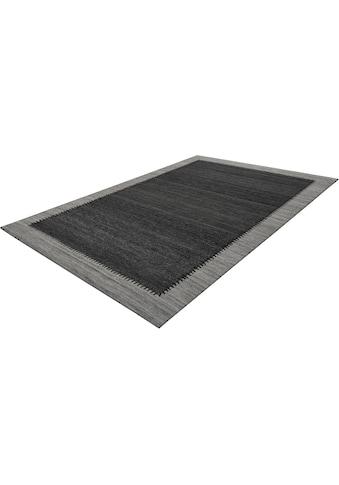 calo-deluxe Teppich »Roxy 450«, rechteckig, 6 mm Höhe, Flachgewebe, Wohnzimmer kaufen
