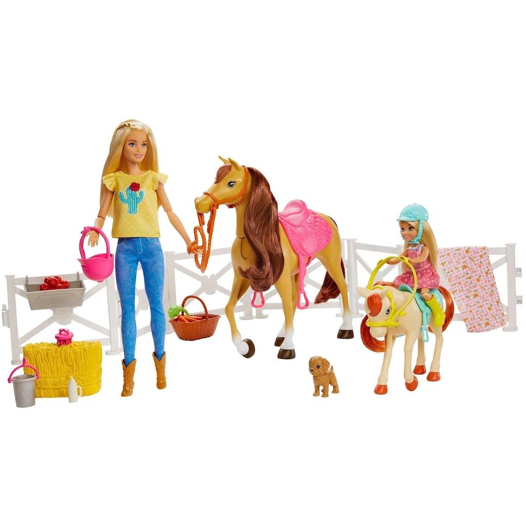 Barbie Anziehpuppe »Reitspaß mit Puppe«