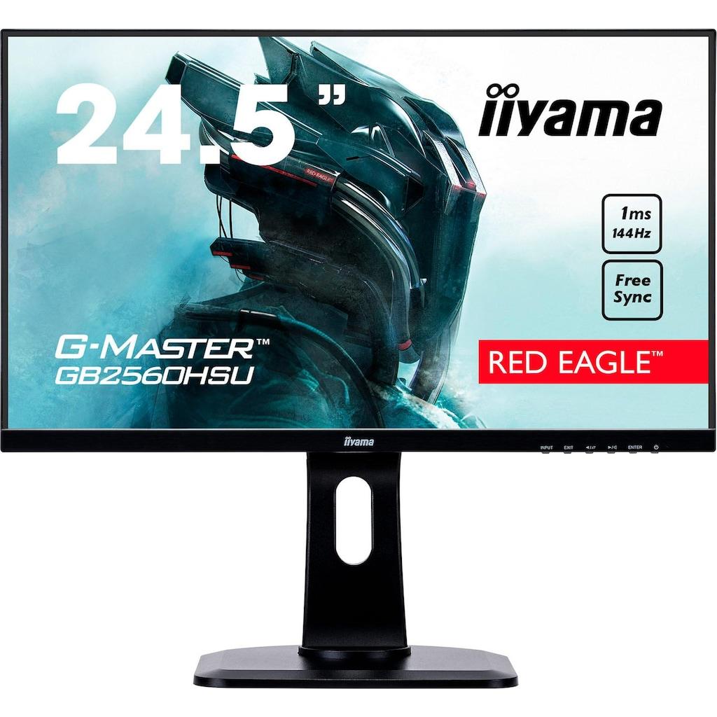 "Iiyama Gaming-LED-Monitor »G-MASTER GB2560HSU-B1«, 62,2 cm/25 "", 1920 x 1080 px, Full HD, 1 ms Reaktionszeit, 144 Hz"