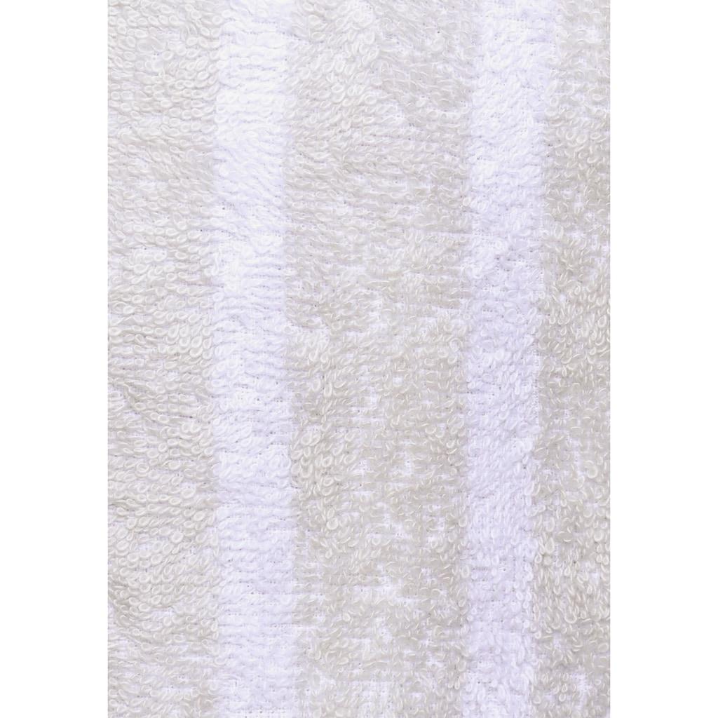 my home Unisex-Bademantel »Finn«, (1 St.), mit modernen Streifen