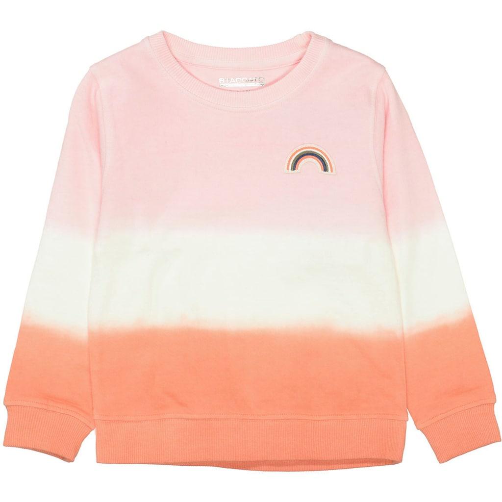 STACCATO Sweatshirt, mit schönem Farbverlauf