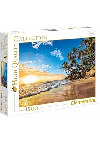 """Clementoni® Puzzle """"Tropischer Sonnenaufgang"""" kaufen"""