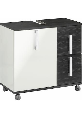 Schildmeyer Waschbeckenunterschrank »Kampen«, Höhe 60 cm, Badezimmerschrank mit... kaufen