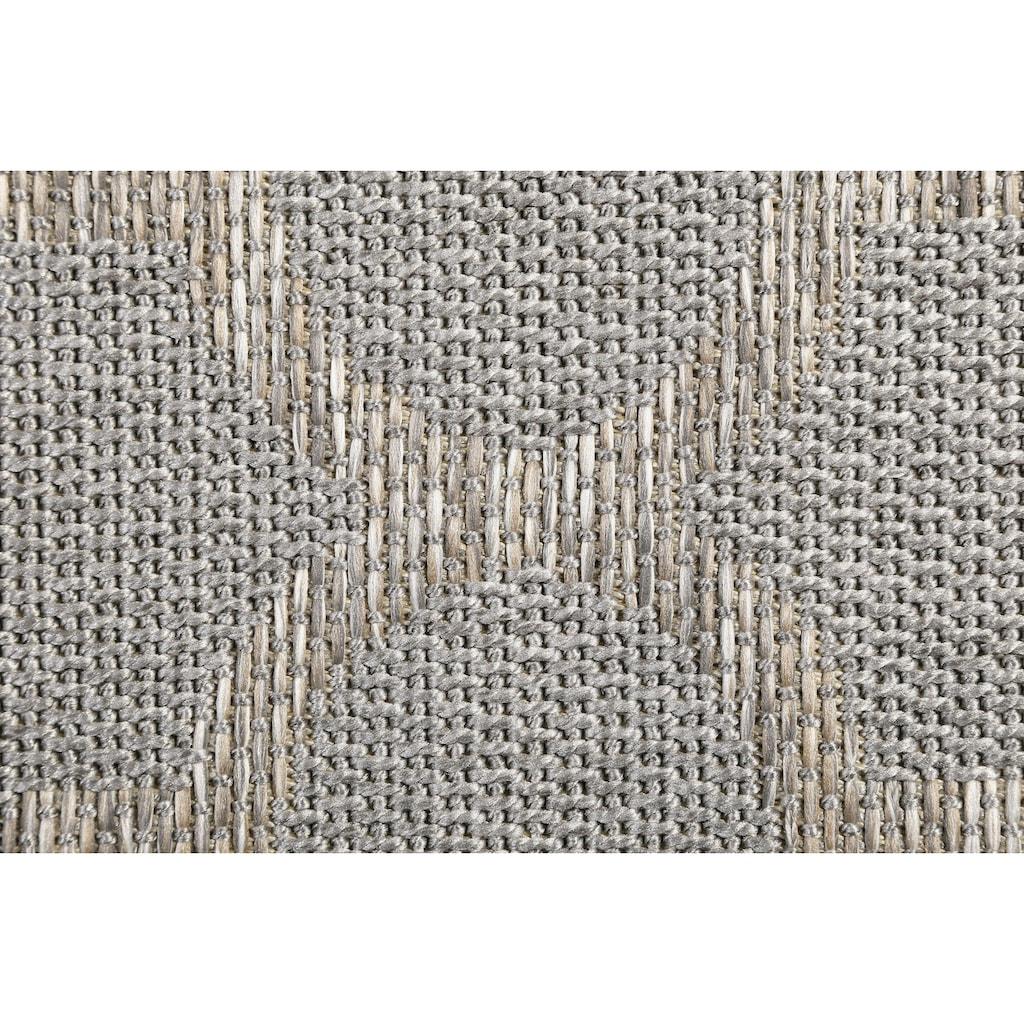 Wecon home Teppich »Gleamy«, rechteckig, 5 mm Höhe, In- und Outdoor geeignet, Wohnzimmer