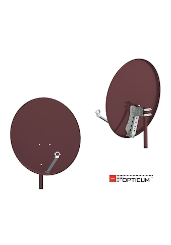 Opticum Red X80 Stahl Sat - Spiegel kaufen