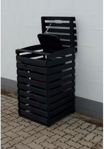 promadino Mülltonnenbox, für 1x240 l aus Holz, BxTxH: 67x90x122 cm kaufen