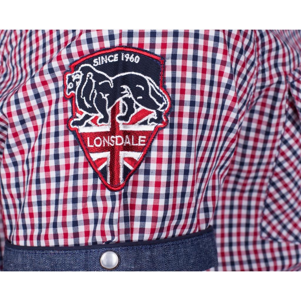 Lonsdale Kurzarmhemd in sportlichem Look