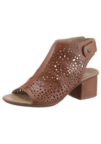 Rieker Sandalette, mit perforiertem Obermaterial kaufen