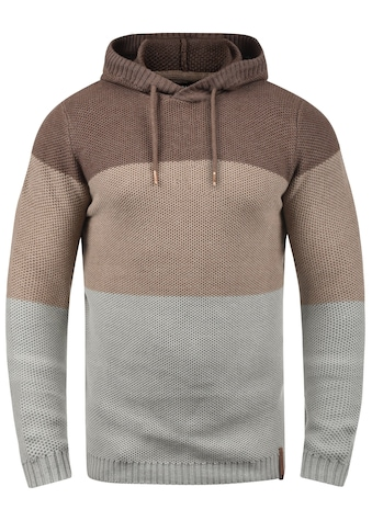Solid Hoodie »Ulberto«, Kapuzenpullover mit Color-Block Streifen kaufen