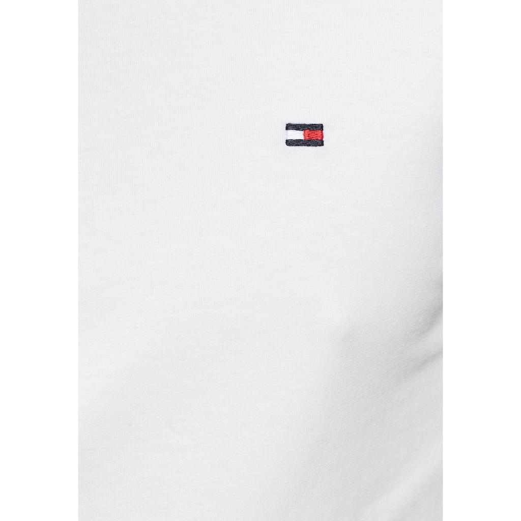 TOMMY HILFIGER T-Shirt »CORE STRETCH SLIM V-NK TEE«