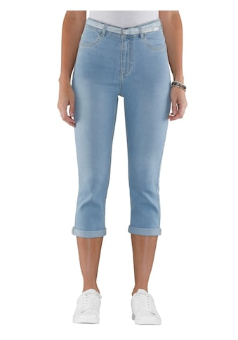 Classic Basics Capri - Jeans mit glitzerndem Gürtel kaufen