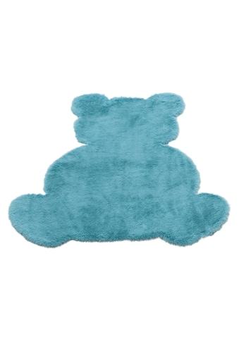 Kinderteppich, »Teddy«, Lüttenhütt, Motivform, Höhe 25 mm, maschinell geknüpft kaufen